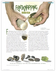 Flintknapping - Revival of an Ancient Craft, by Paul Trotta